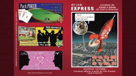 "Flyer ""Drink Express"""